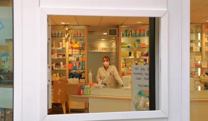 Farmàcia de barri Font: @piesgar
