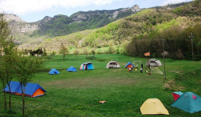 Terreny d'acampada / Foto: Minyons Escoltes i Guies de Catalunya