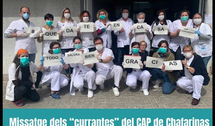 El CAP del carrer Chafarinas atén els barris de Trinitat Nova iProsperitatde la ciutat de Barcelona Font: Associació de veïnes i veïns de Prosperitat