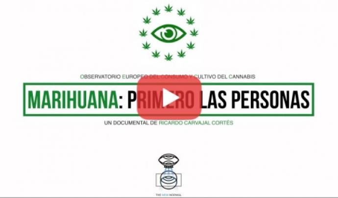 Un documental de l'Observatori Europeu del Consum i Cultiu de Cànnabis denuncia els drets menystinguts dels milers d'usuaris de cànnabis al Estat espanyol. Font: Observatori del Consum i Cultiu del Cànnabis