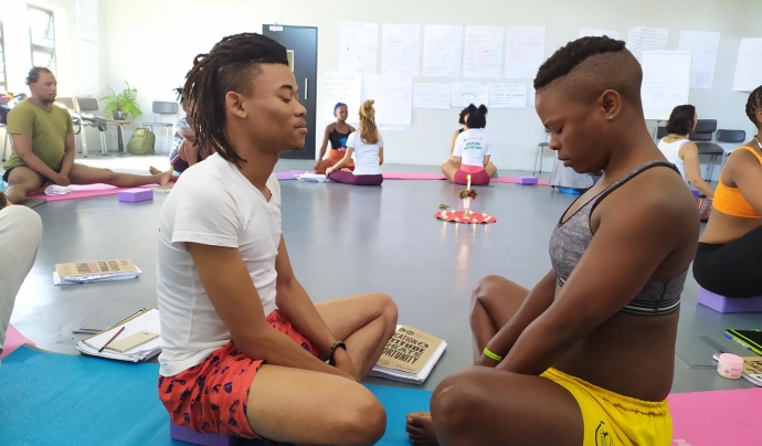 La formació espera impactar directament a les comunitats. Font: Yoga Sin Fronteras.  Font: Yoga Sin Fronteras