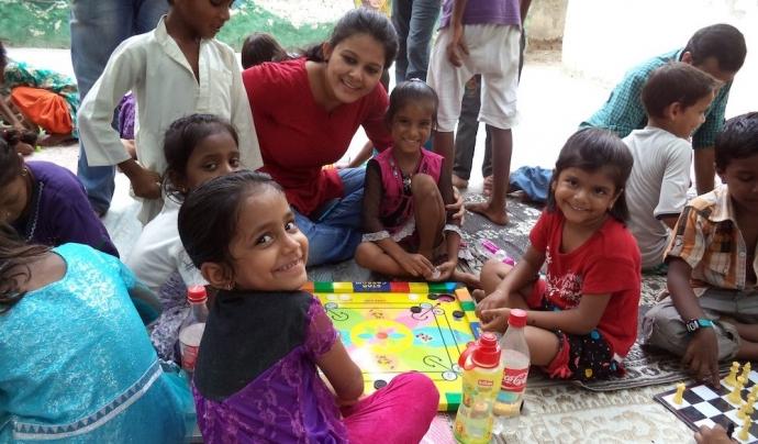 projecte de joguines per a infants desfavorits de la India Font: Digital Journal
