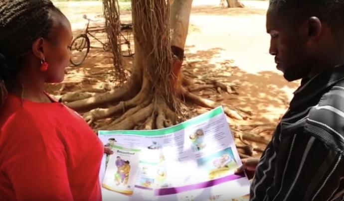 Translators without Borders forma persones traductores a Kènia.  Font: TWB