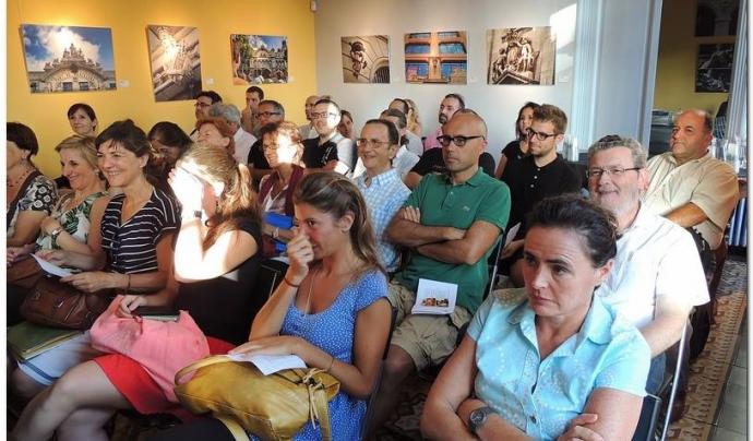 Conferències i exposicions són altres de les activitats que organitza l'entitat. Font: Caçadors d'Hermes