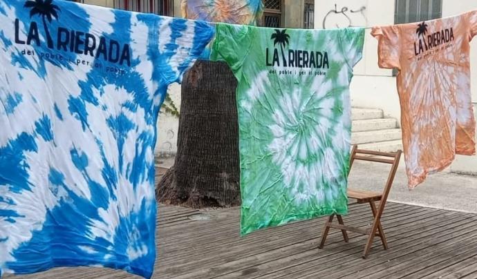 Samarretes de La Rierada acabades de fer. Font: La Rierada.
