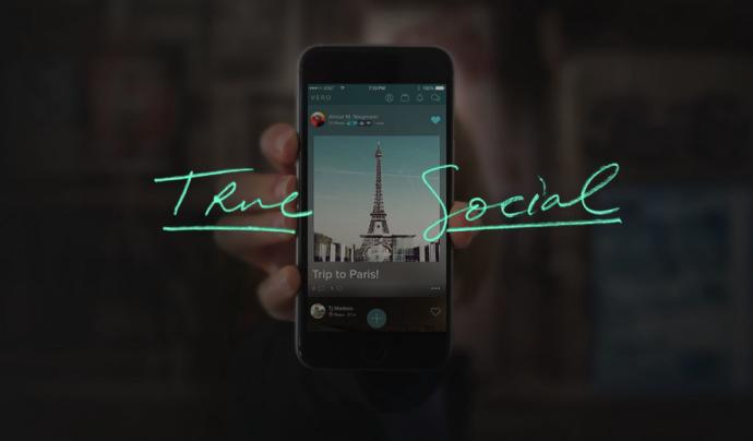 'True social' és el lema amb què s'ha donat a conèixer la nova comunitat Vero