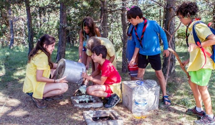Intendència a campaments / Foto: Minyons Escoltes i Guies de Catalunya