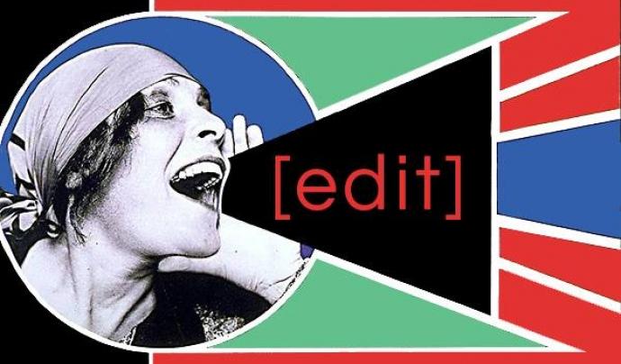 Il·lustració sobre la crida a les dones a editar la Wikipedia Font: Art+Feminism (Facebook)