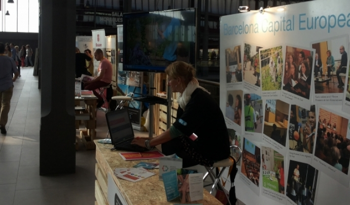 Imatge del Marketplace2014                     Font: Plataforma del Voluntariado de España.