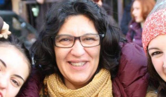 Iolanda Maurici, de la Unitat Contra el Feixisme i el Racisme (UCFR). Font: Iolanda Maurici