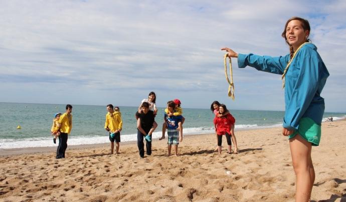 Moment d'activitats i jocs / Font: Minyons Escoltes i Guies de Catalunya