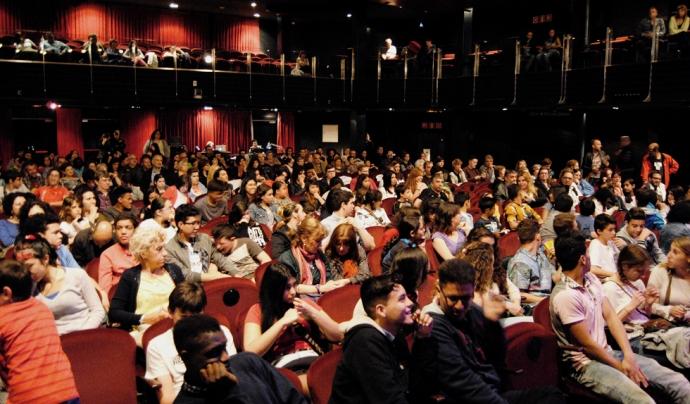 ImpactaT és una associació pionera en teatre social i teatre de l'oprimit a Catalunya.  Font: ImpactaT