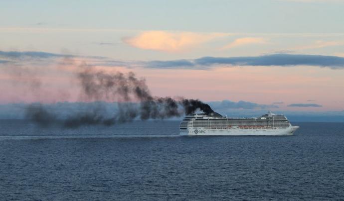 Emisions dels grans ports Font: Plataforma de la Qualitat de l'Aire