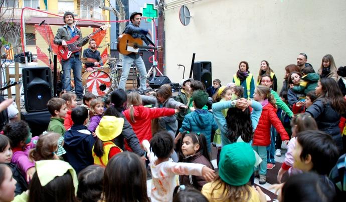Espectacle de Xiula a l'escola Dovella /Font: Xiula