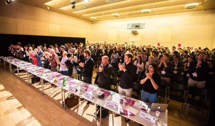Acte de lliurament dels premis EYA 2016 Font: European Youth Award