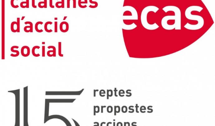 Logo dels 15 anys d'ECAS. Font: ECAS