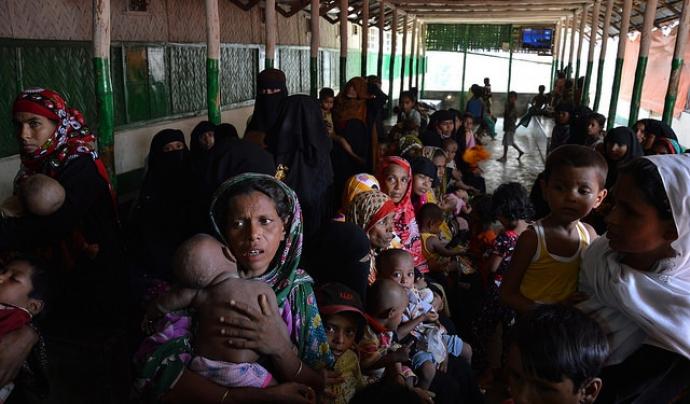 300.000 rohingyes s'han vist obligats a fugir a Bangladesh. Font: European Comission DG, Flickr