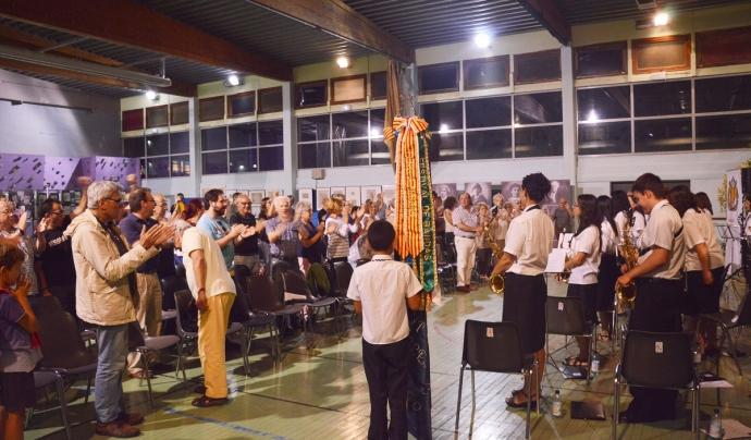 Actuació de la Banda de Sant Llorenç de La Galera a la UCE