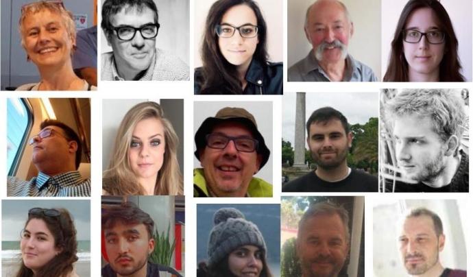 Algunes de les persones que formen l'equip d'IHR Font: IHR