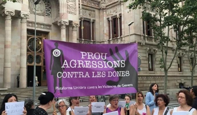 Plataforma Unitària contra la Violència de Gènere Font: Plataforma Unitària contra la Violència de Gènere