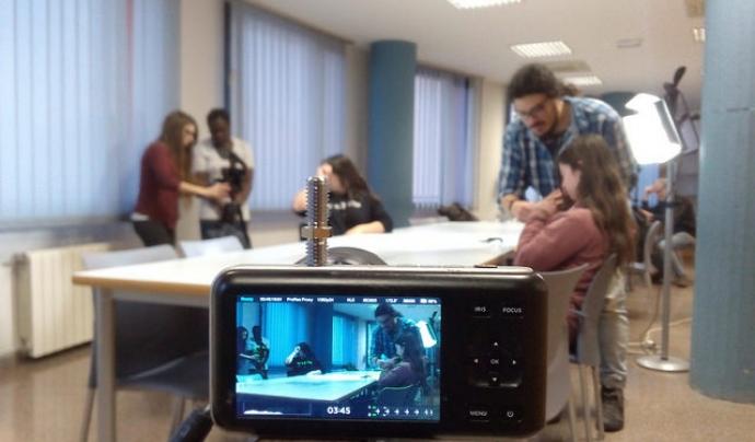 Un moment de la formació prèvia per fer el documental Font: Fundació Oreneta