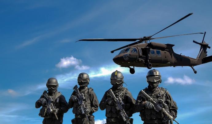La xifra de despesa militar mundial creix per cinquè any consecutiu en un 2,4% respecte el 2019. Font: Pixabay (Llicència CC).