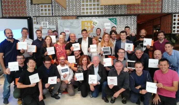 Acte de presentació de la 8a edició de la 'Tapa Solidària'.