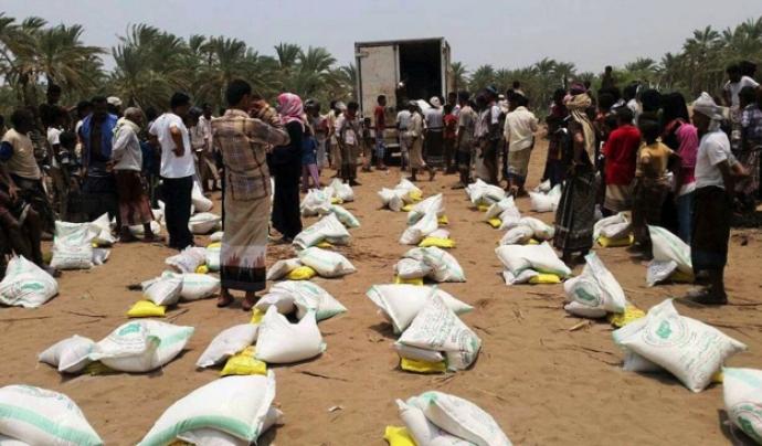 L'ajuda humanitària al Iemen està bloquejada