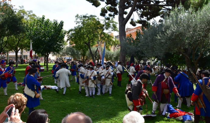 Imatge de la batalla.