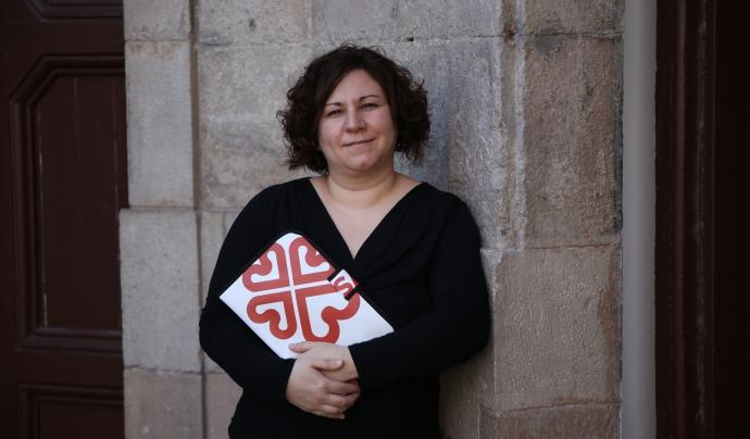 Dessirée Garcia és la coordinadora del programa de formació i inserció sociolaboral de Càritas