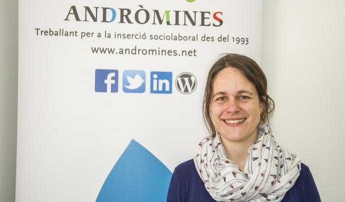 Núria Sau, directora de projectes d'Andròmines Font: Andròmines