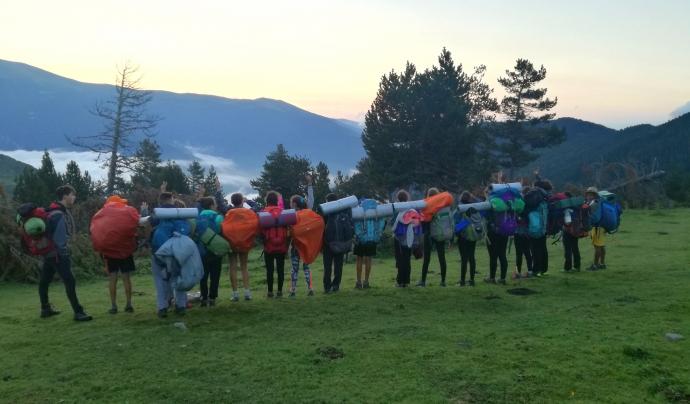 Aquest estiu prop de 20.000 escoltes i guies marxaran de campaments. Font: AEiG La Claca - Minyons Escoltes i Guies de Catalunya