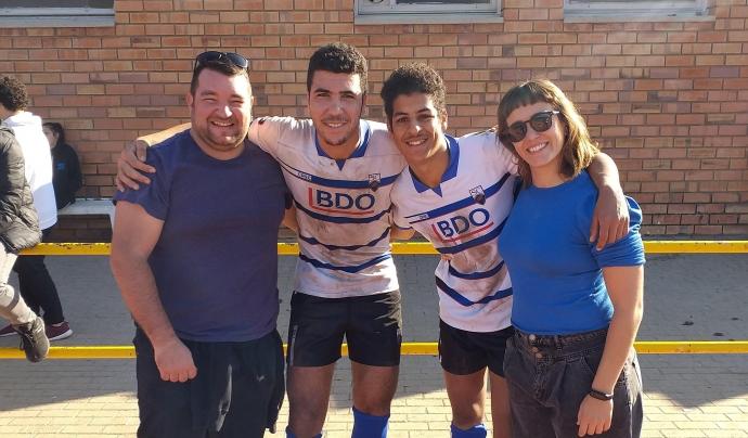 Les joves que mostrin interès per seguir gaudint del rugbi, podran passar a un club gràcies a la col·laboració del Sabadell Rugby Club i el Club de Rugby Sant Cugat. Font: Placant Barreres