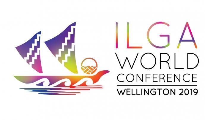 Logo de la trobada mundial LGTBI que tindrà lloc a Wellington. Font: IdemTV