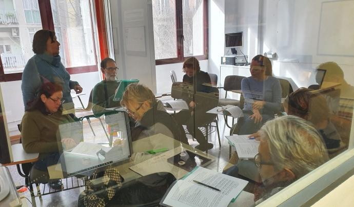 L'Associació Catnova presenta el projecte 'ImmiGrandes'.º Font: Associació Catnova