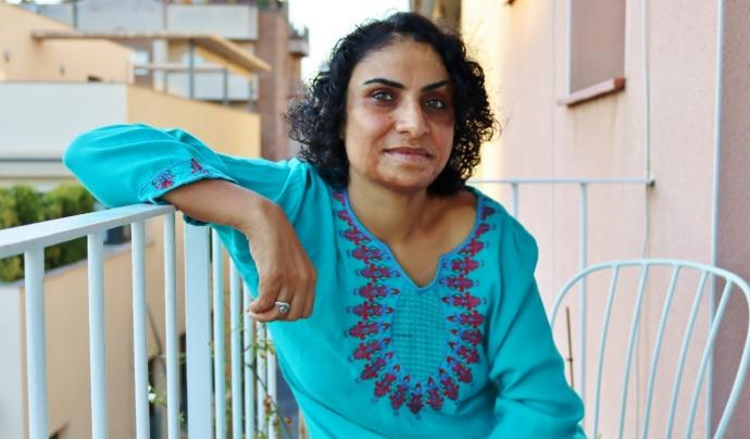 La Nadia Ghulam demana que s'aturin les armes a l'Afganistan Font: Nadia Ghulam