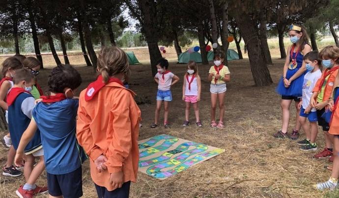 Els agrupaments reforcen aquest estiu la intenció educativa dels campaments Font: AEiG Cal Met - Minyons Escoltes i Guies de Catalunya