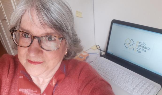 Esther Amorós Bernadó, membre del Consell Directiu d'Acció Solidària Contra l'Atur Font: Acció Solidària Contra l'Atur