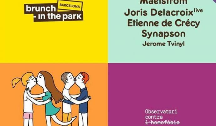 Col·laboració entre l'OCH i el Brunch-in the Park Barcelona Font: OCH (Facebook)