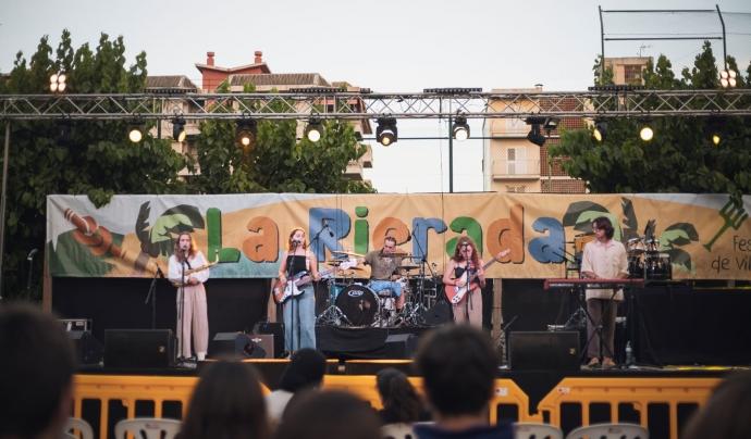 Concert de festa major de Vilassar de Mar. Font: La Rierada.