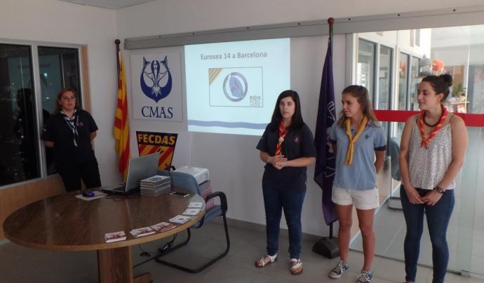 Presentació de la candidatura de Barcelona per acollir la 14a edició de l'Eurosea
