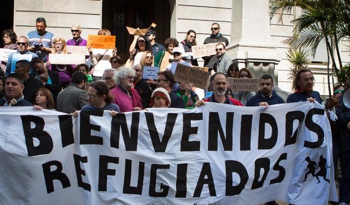 Ciutats com Barcelona, Girona, Granollers o Mataró acolliran les manifestacions antiracistes aquest cap de setmana. Font: ALQL (Arriba las que luchan) | Flickr