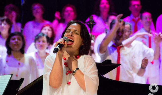 Concert de gospel solidari a Barcelona Font: