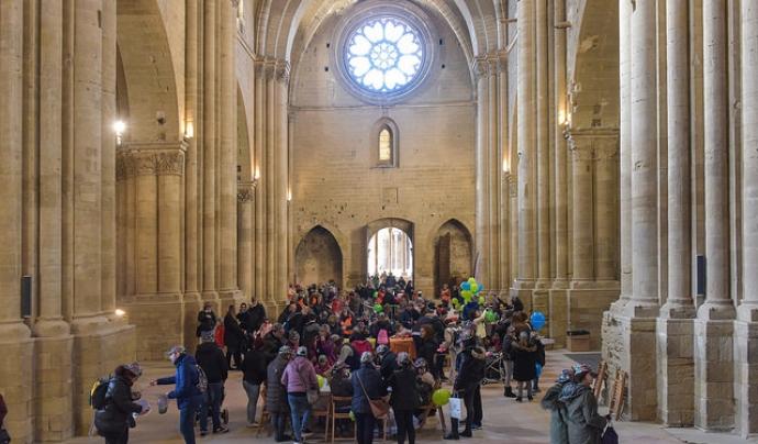 La Seu Vella de Lleida acollirà la sisena edició de la festa solidària. Font: AFANOC