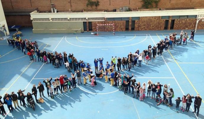 Acció de l'Associació Catalana de la Síndrome X Fràgil