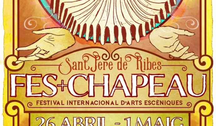 Cartell del festival Font: Fes+Chapeau