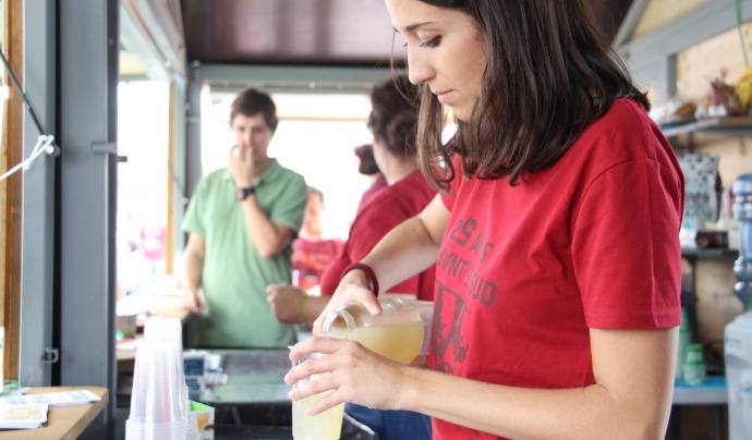 La cafeteria de comerç just serà el punt de trobada de l'associacionisme en l''Associa't a la festa' Font: Setem Catalunya (Flickr)