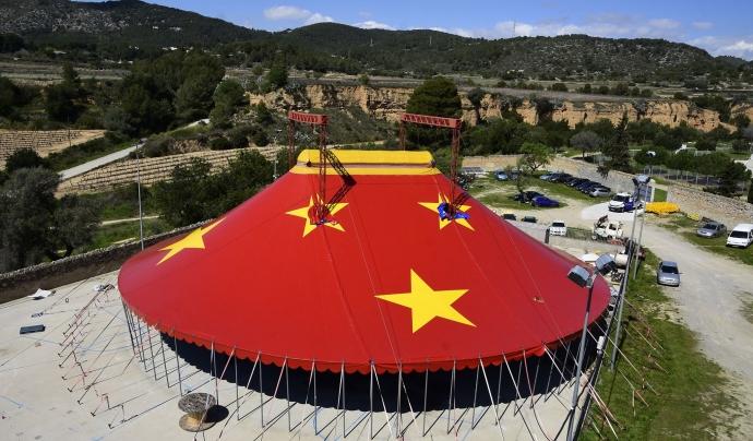 La Carpa Revolució, l'escenari del festival ribetà