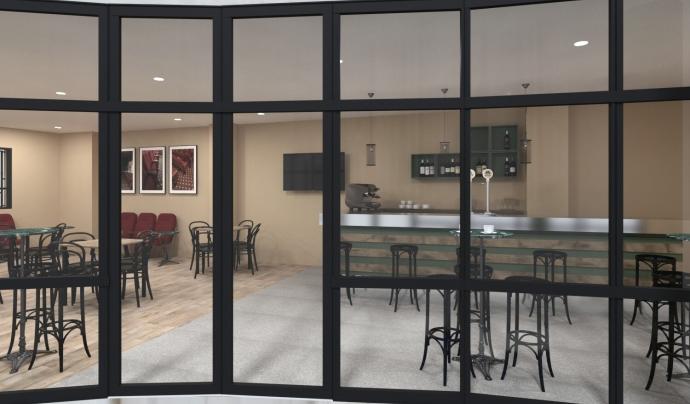 Projecte de reforma del Bar del Centre i Teatre de Sarrià Font: Centre de Sarrià