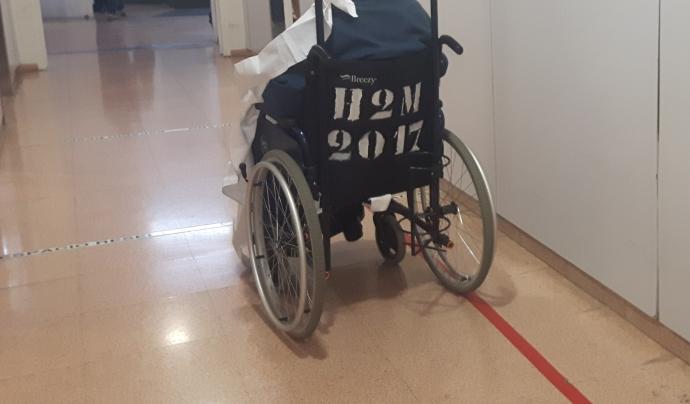 El col·lectiu de persones amb discapacitats és més vulnerable a la crisi del coronavirus. Font: COCARMI